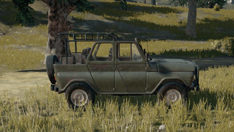 PUBG Fahrzeug
